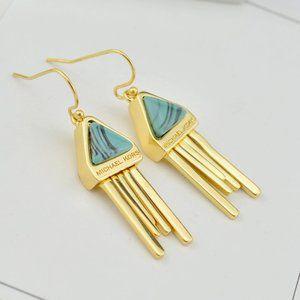 Michael Kors Gold Design Tassel Earrings